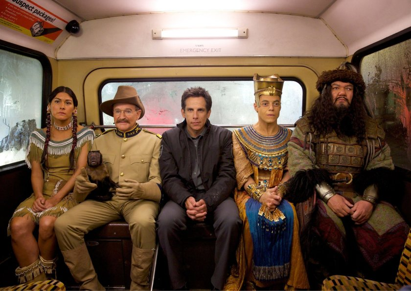 We can't imagine anyone else but Ben Stiller in 'Night At The Museum'.
