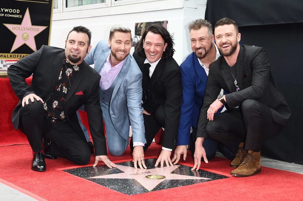 Your Favourite 90s Boyband NSYNC Finally Receives The Hollywood Walk Of Fame Star