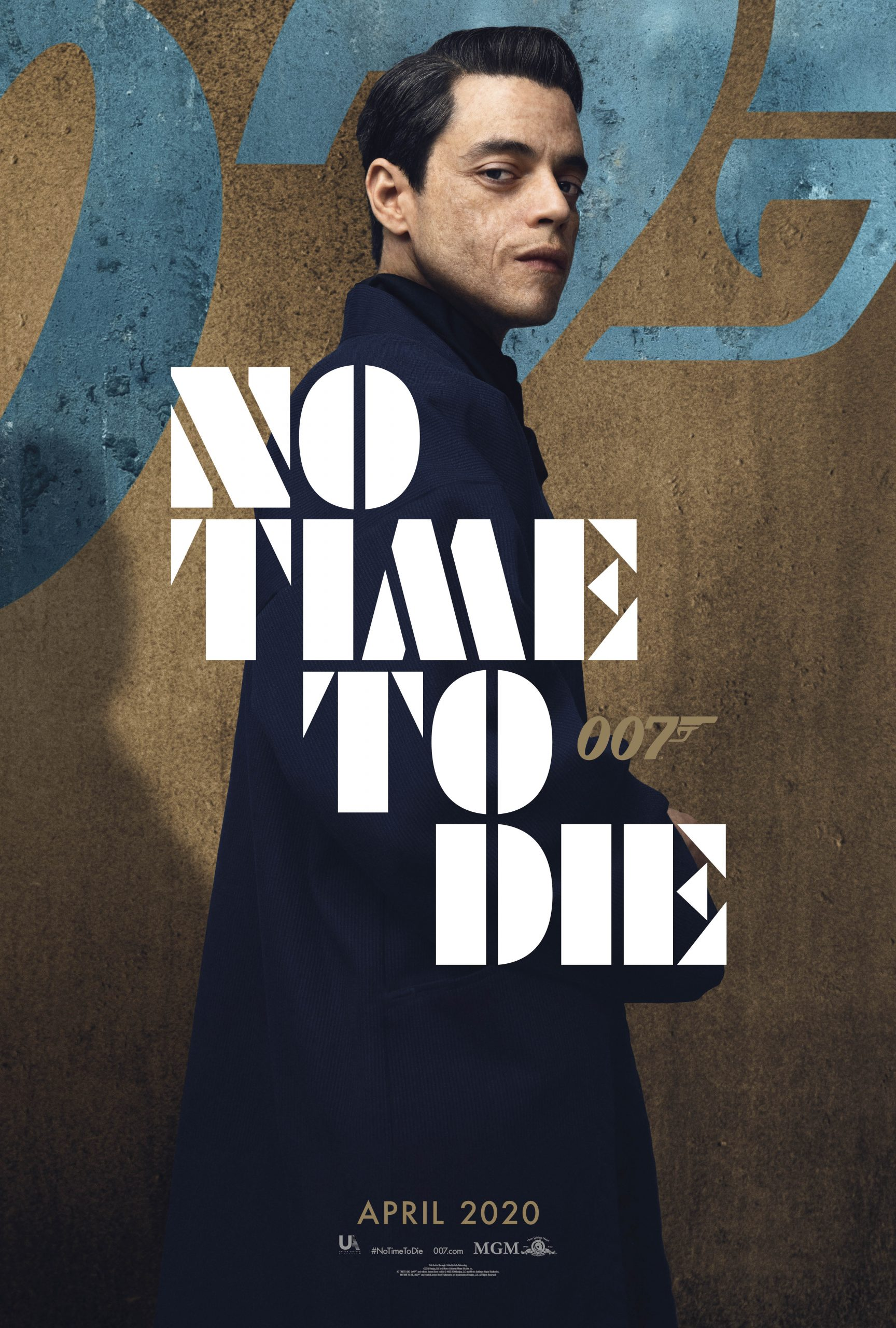 Rami Malek will go up against Daniel Craig in 'No Time To Die'.