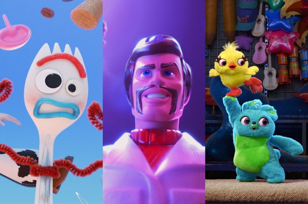 Meet the awesome new characters in 'Toy Story 4'.