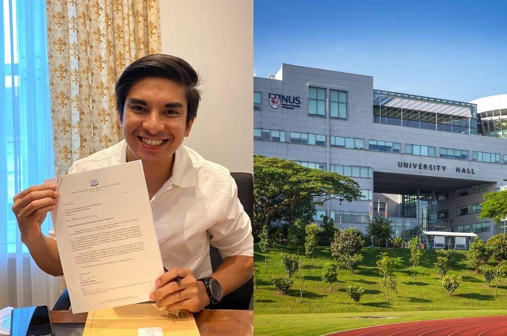 Syed Saddiq Receives Scholarship To Continue Studies At National University Of Singapore