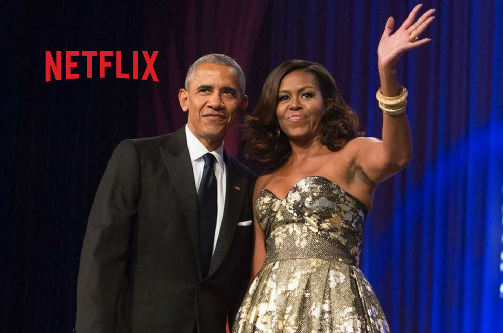 The Obamas Are Set To Produce TV Shows And Movies For Netflix