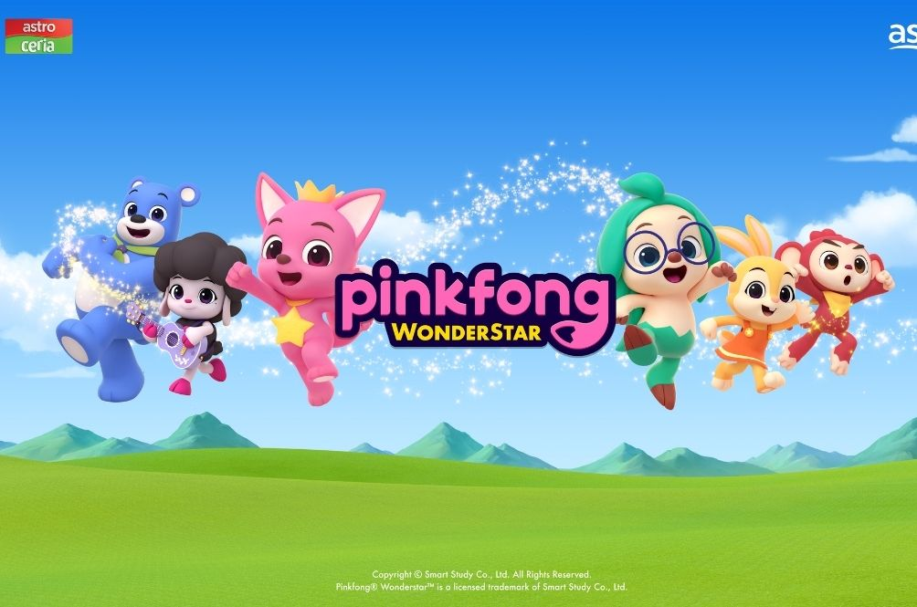 Pinkfong Launches New Show 'Wonderstar' And You Can Catch It Now On Astro