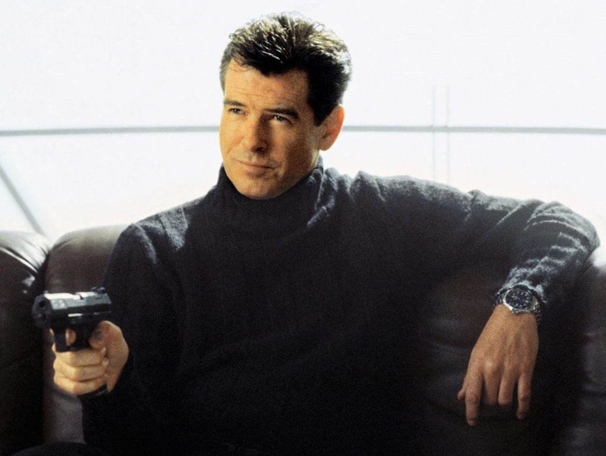 Is Pierce Brosnan your favourite Bond?