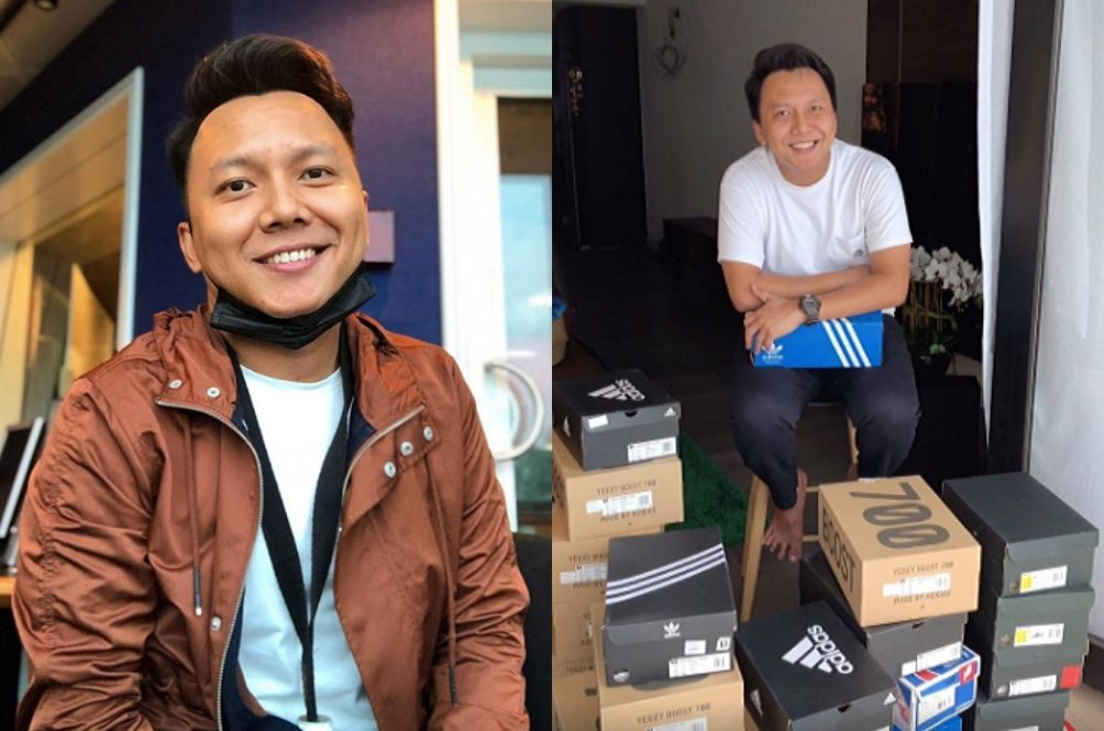 ERA Radio Announcer Raises Over RM10,000 For COVID-19 Fund By Selling Shoe Collection