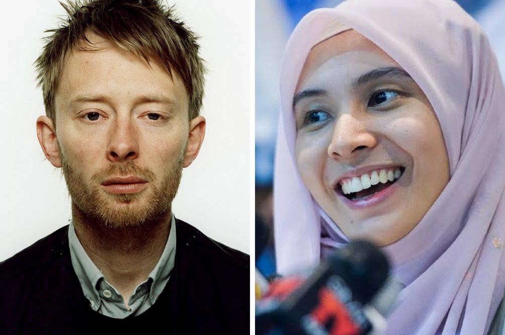 Nurul Izzah Will Bring Radiohead To Malaysia Because Pakatan Harapan Won GE14