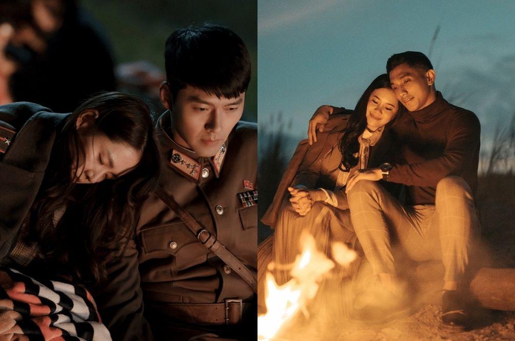 [PHOTOS] Couple Recreates 'Crash Landing On You' Scenes For Their Pre-Wedding Photoshoot