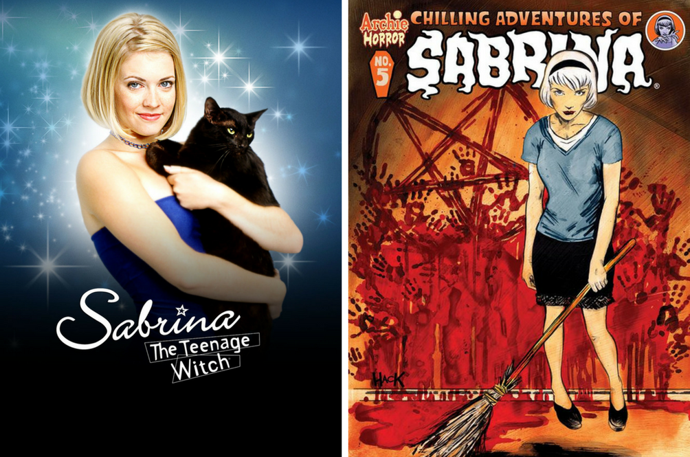 'Sabrina The Teenage Witch' Is Getting A Darker Reboot On Netflix Soon!