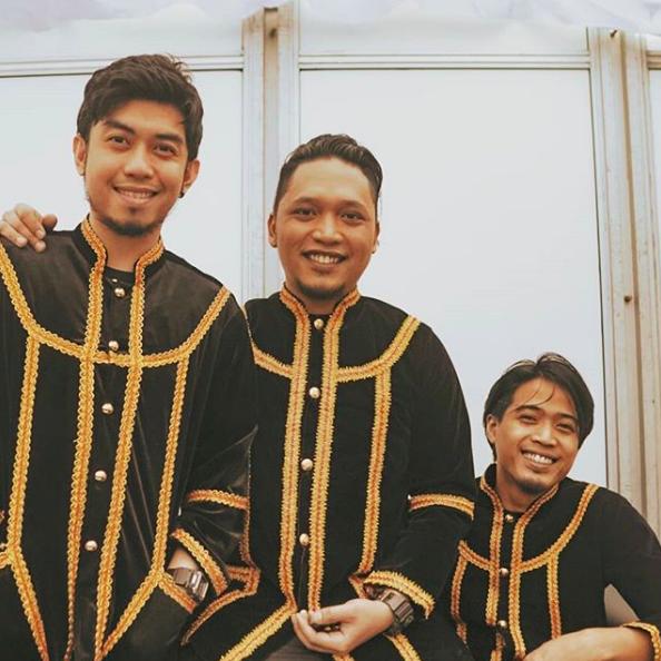 Rich and his bandmates.