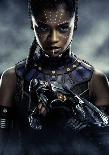 The mighty Princess of Wakanda.