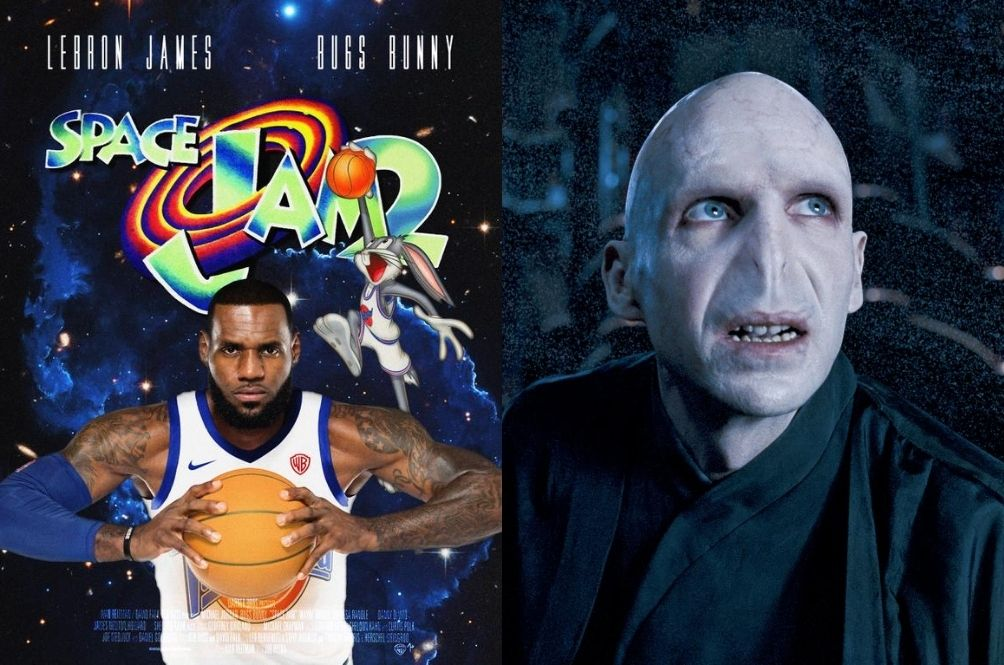 A Dark Surprise? Lord Voldemort To Appear In 'Space Jam' Remake Starring LeBron James