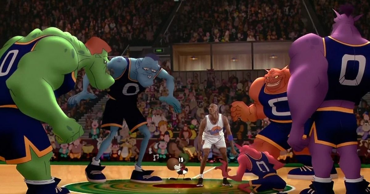 The sequel needs to live up to this epic basketball match.