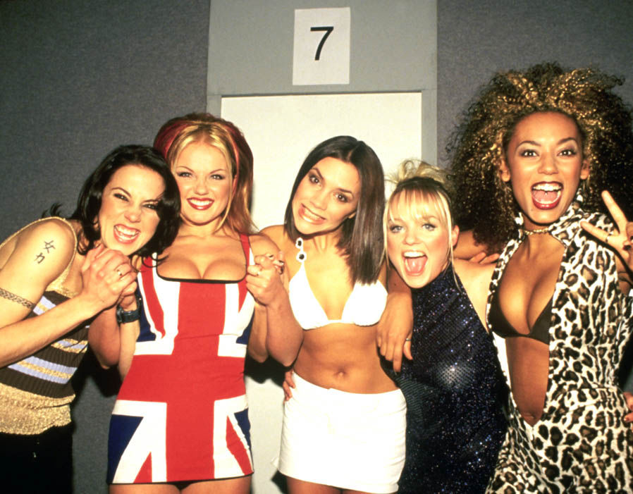 The girls back in their heydays in 1997.