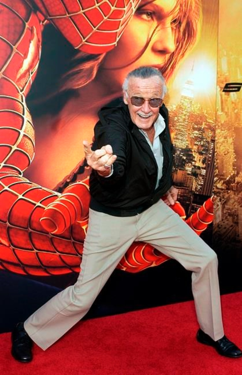 No Stan Lee, no Spiderman.