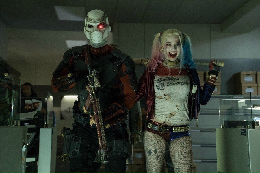 Deadshot and Harley Quinn.