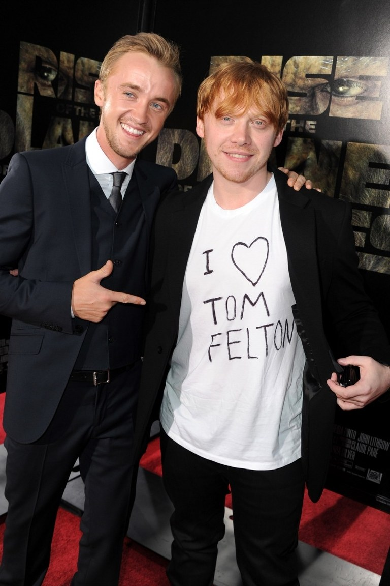 We love Tom Felton too!