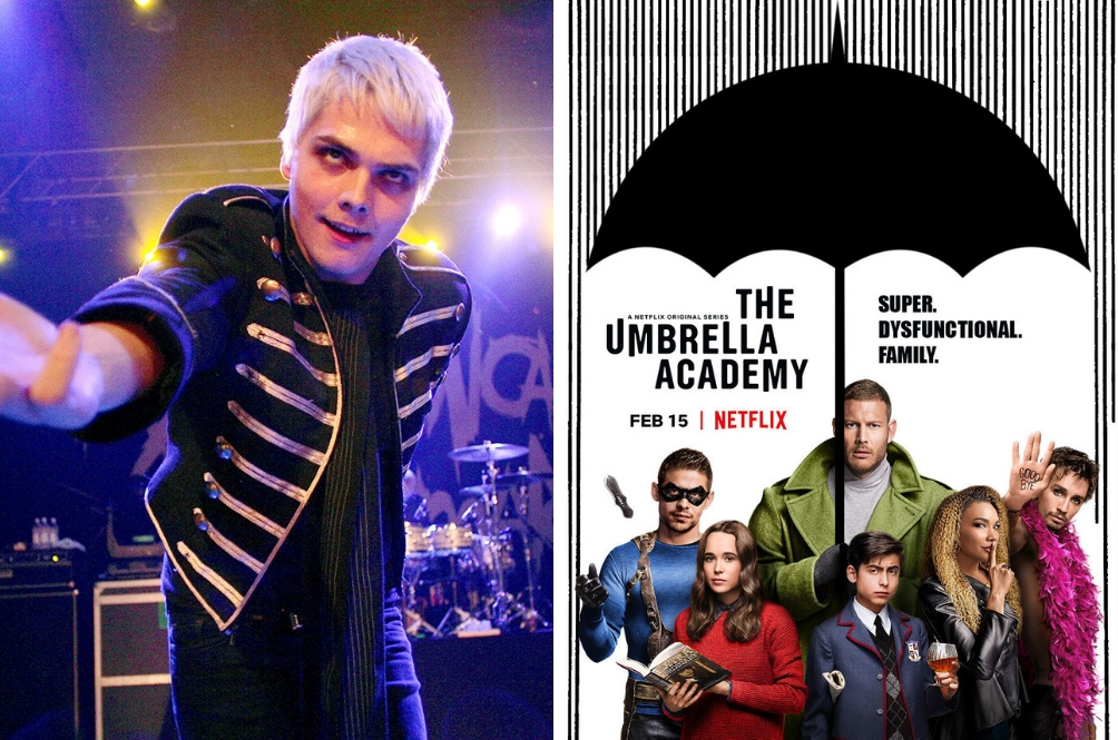 If You Love Gerard Way Of My Chemical Romance, You'll Love His New Hit Netflix Series