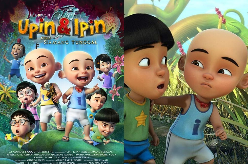 From Kg. Durian Runtuh To Canada: 'Upin & Ipin' Film Bags International Animation Award