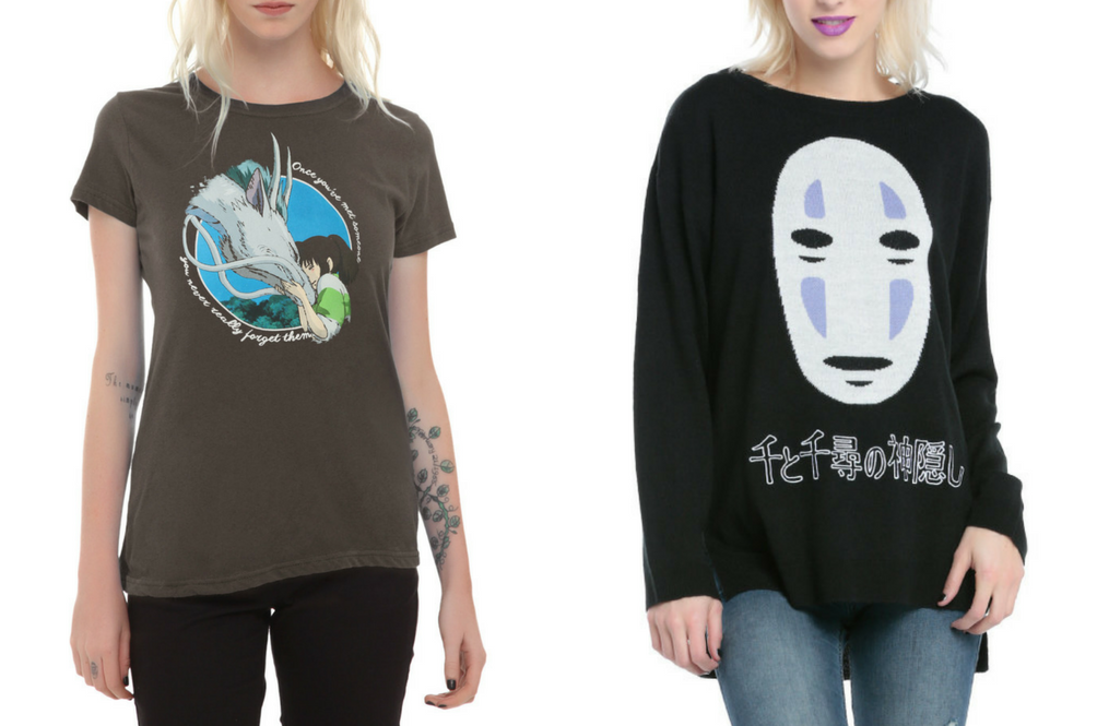 Spirited Away Celebrates Its 15th Anniversary With a Magical Clothing Line!
