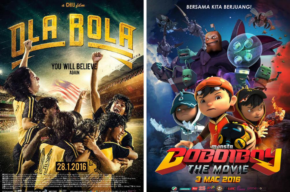 Top 3 Malaysian Movies That Broke the 2016 Malaysian Box Office