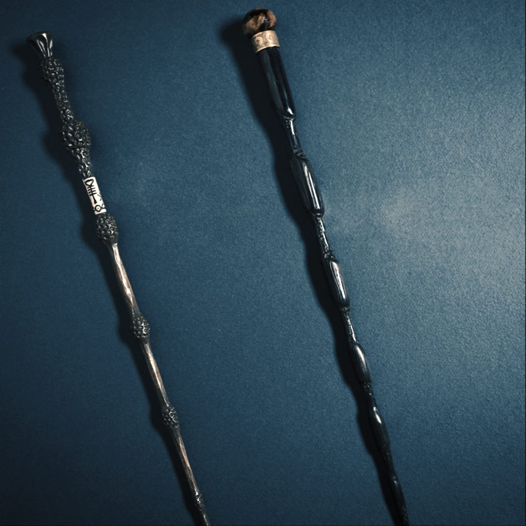 Do you know whose wands are these?
