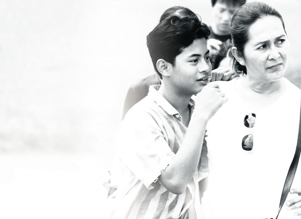 Yasmin Ahmad and Syafie Naswip.