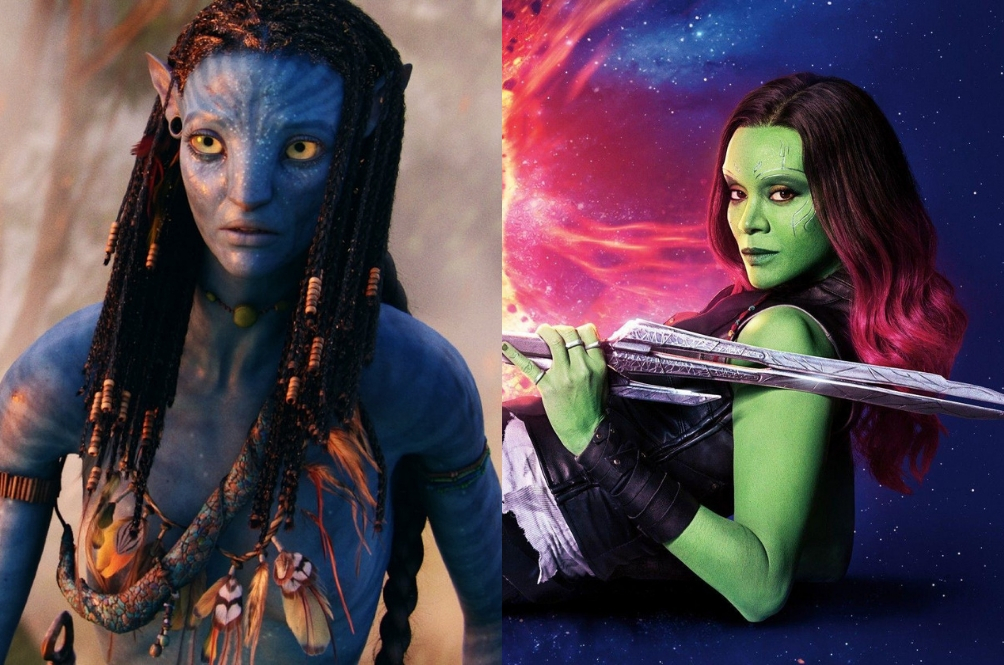Zoe Saldana Is The Only Person To Star In Two Of The Highest