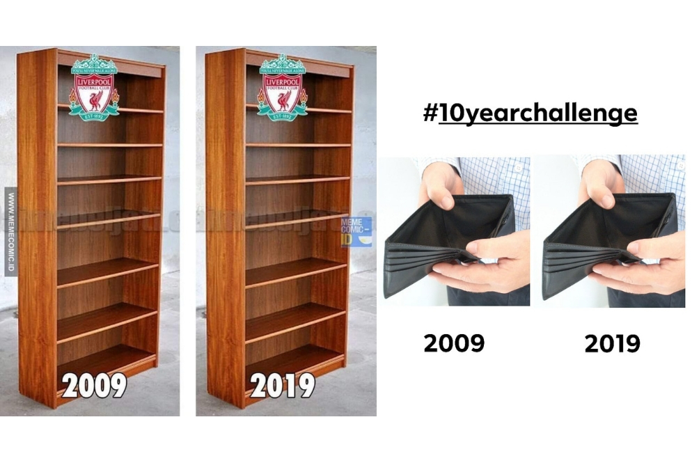 Here Are Some Of The Most Hilarious #10YearChallenge Photos We Found