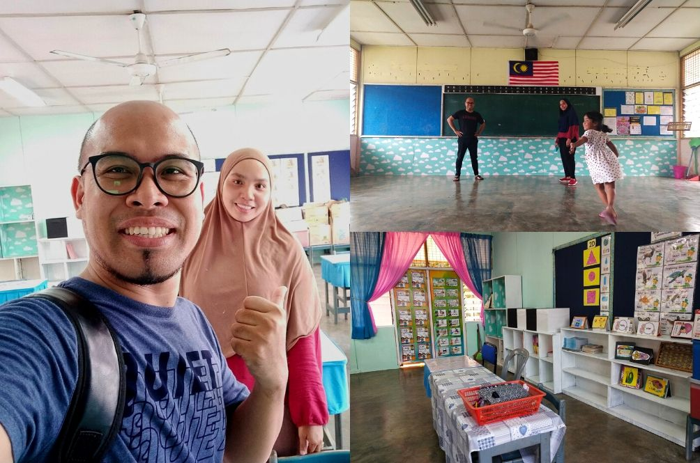 Netizens Praise M'sian Parents For Redecorating Child's Classroom Using Their Own Money