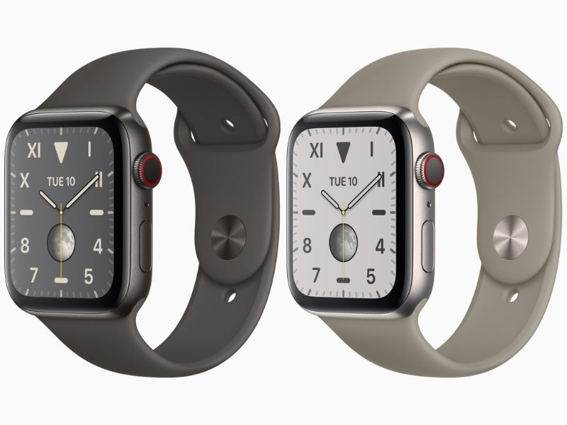 Meet the all-new titanium Apple Watch 5.