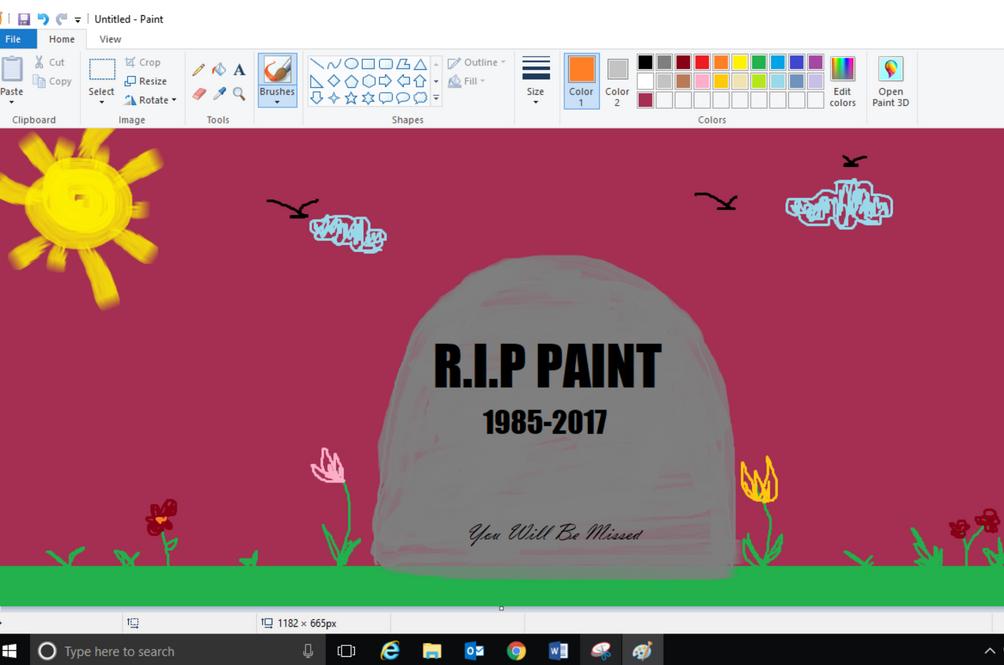 Good Art In Ms Paint