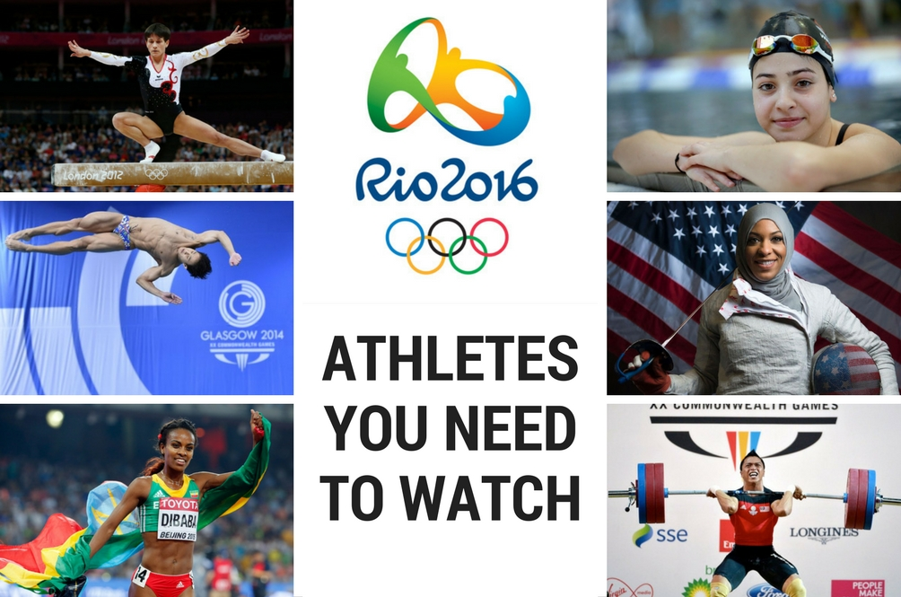 6 Athletes You Should Look Out for at the 2016 Rio Olympics