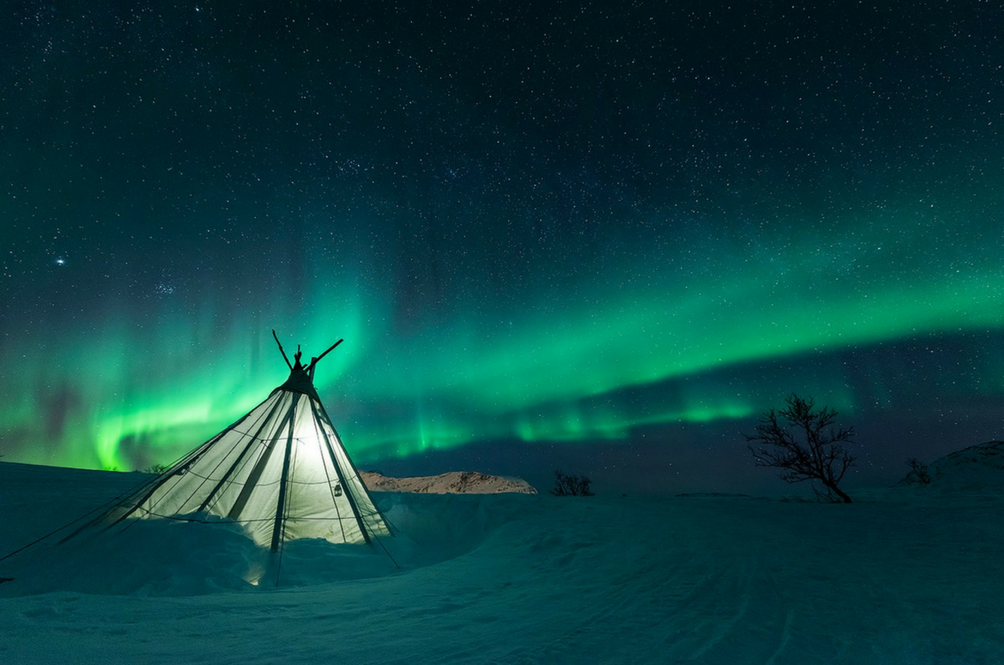 6 Best Places To Catch The Northern Lights Besides Iceland In 2018