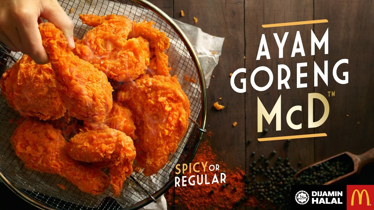 Ayam Goreng Spicy McD > KFC.