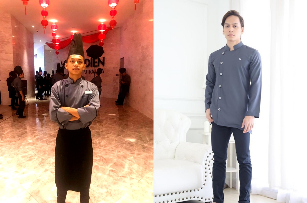 Netizens Are Amused That This 'Baju Raya' Looks EXACTLY Like A Chef's Uniform