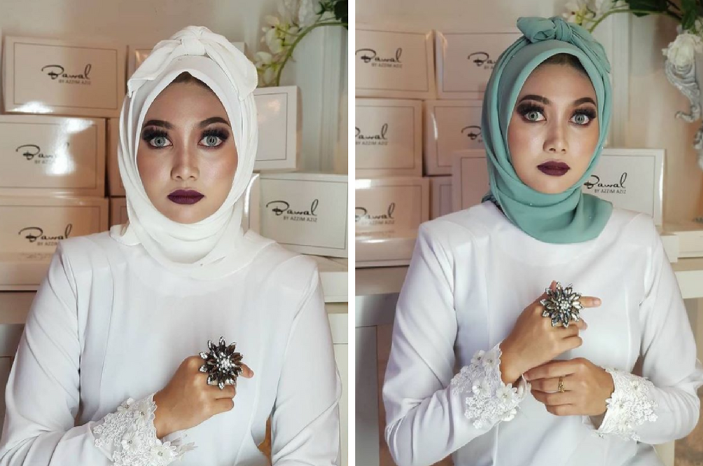Could 'Tudung Pocong' Be The Next Big Hari Raya Trend In Malaysia?