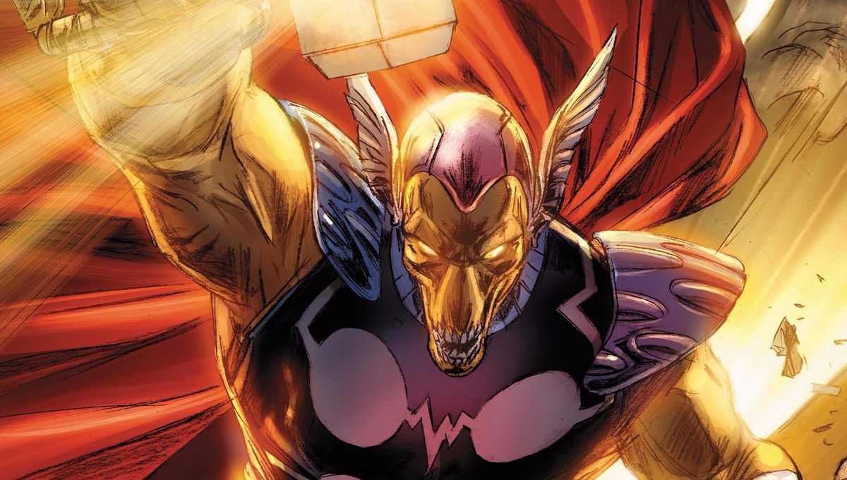 Beta Ray Bill looks creepy to be honest.