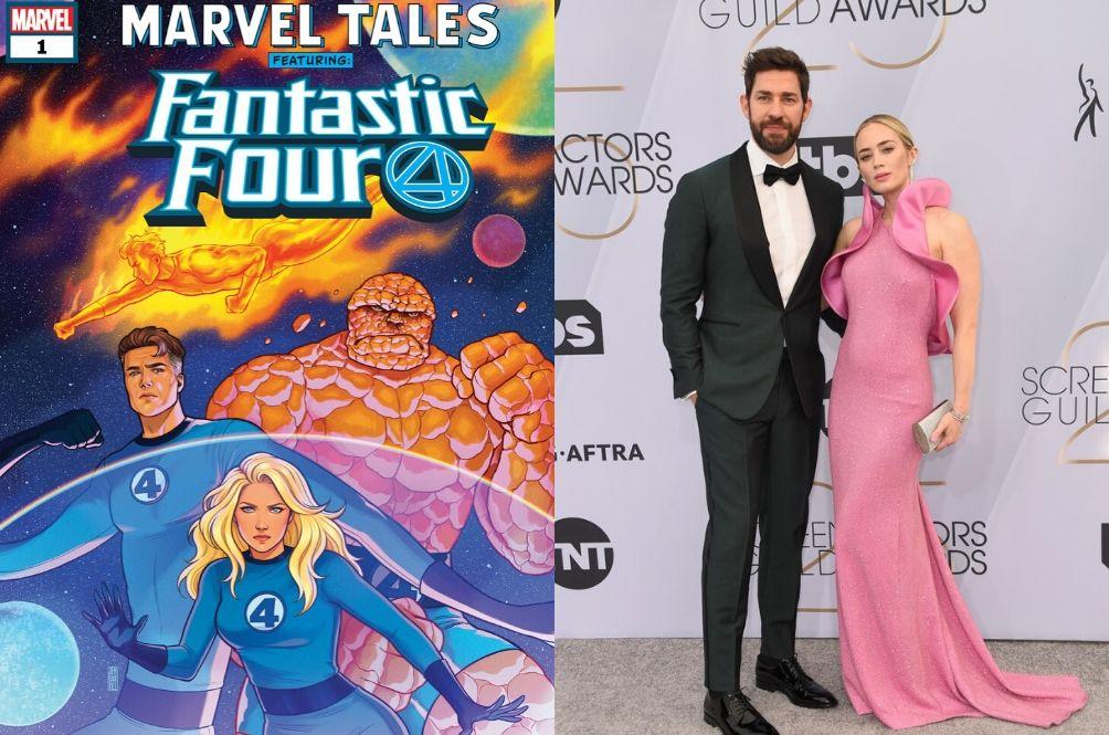 Marvel Is Reportedly Considering Emily Blunt And John Krasinski For 'Fantastic Four'