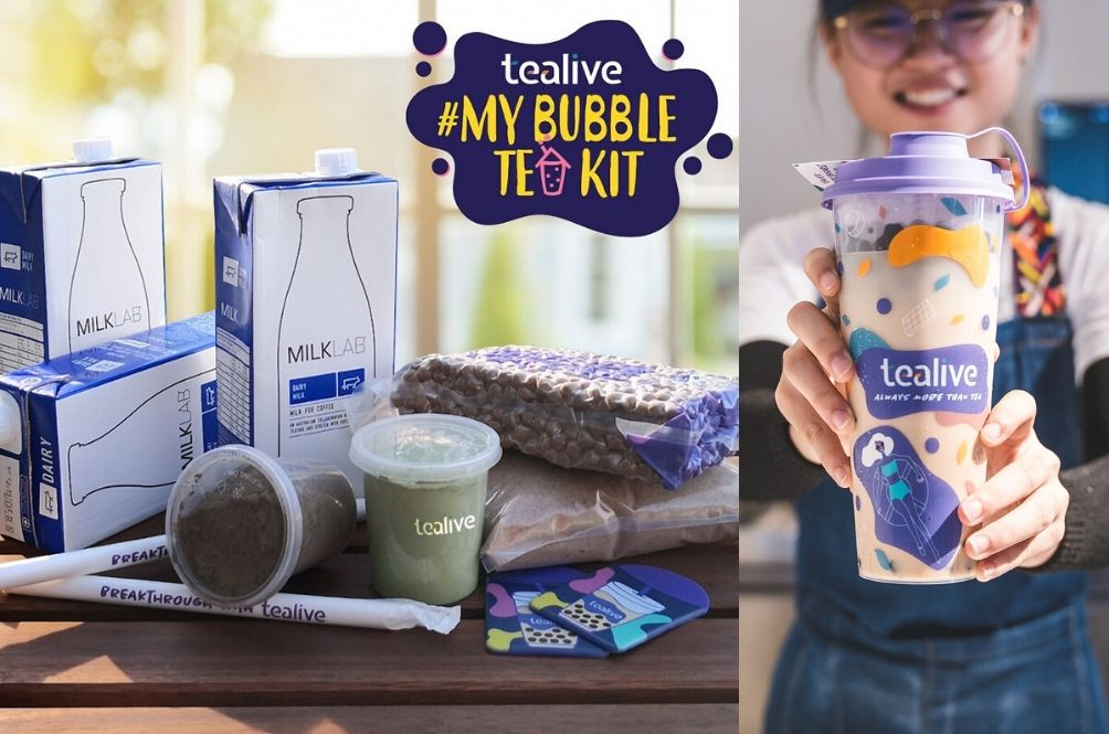 MCO: Tealive Is Now Selling DIY Bubble Tea Kits So You Can Be A Tearista At Home