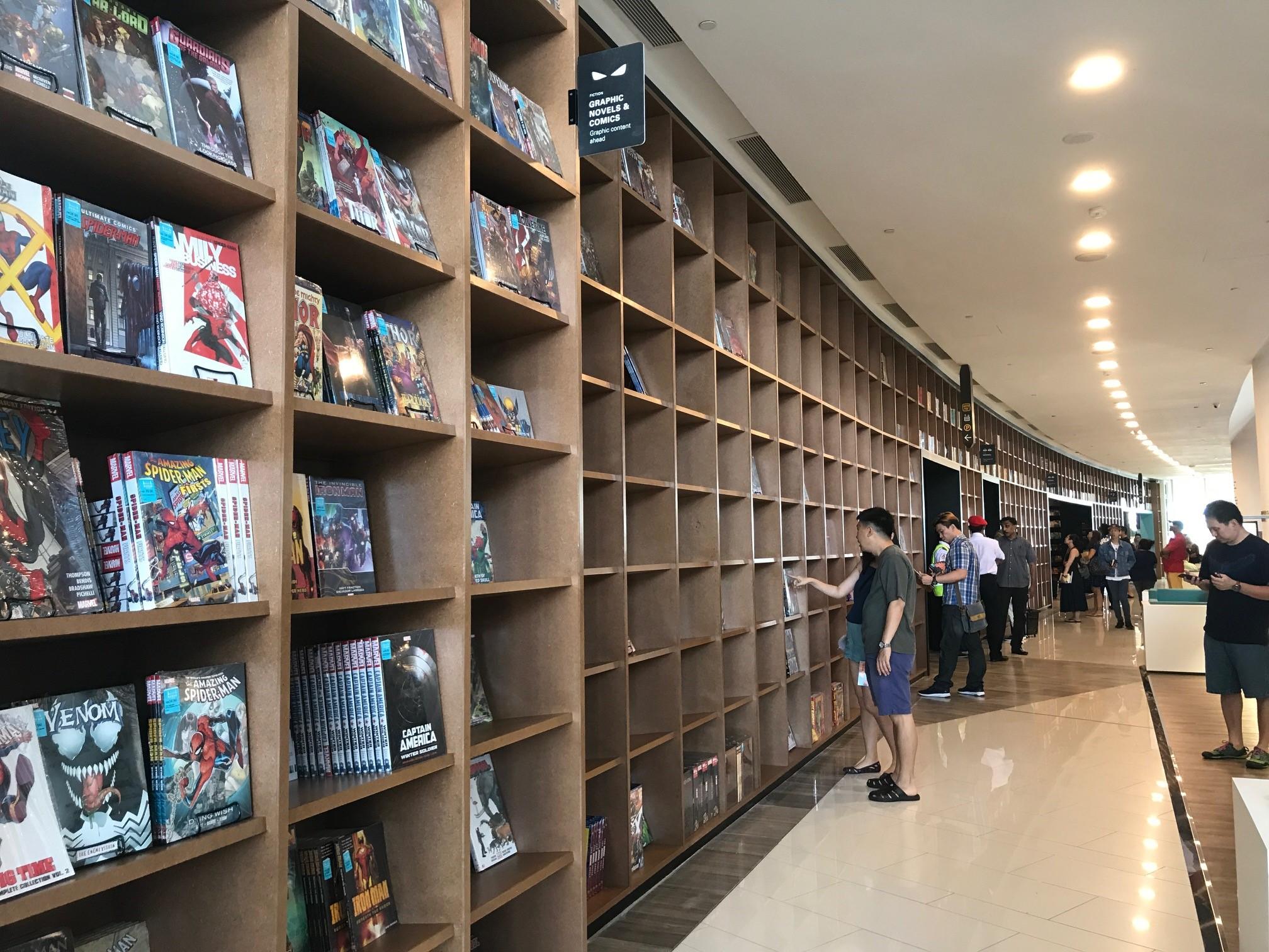 Meet the longest shelf in Malaysia.