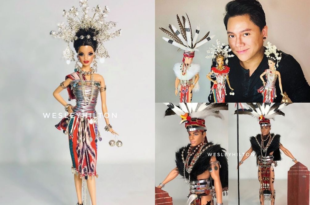 Meet The Sarawakian Who Creates Stunning Borneo Barbie Dolls To Honour His Culture