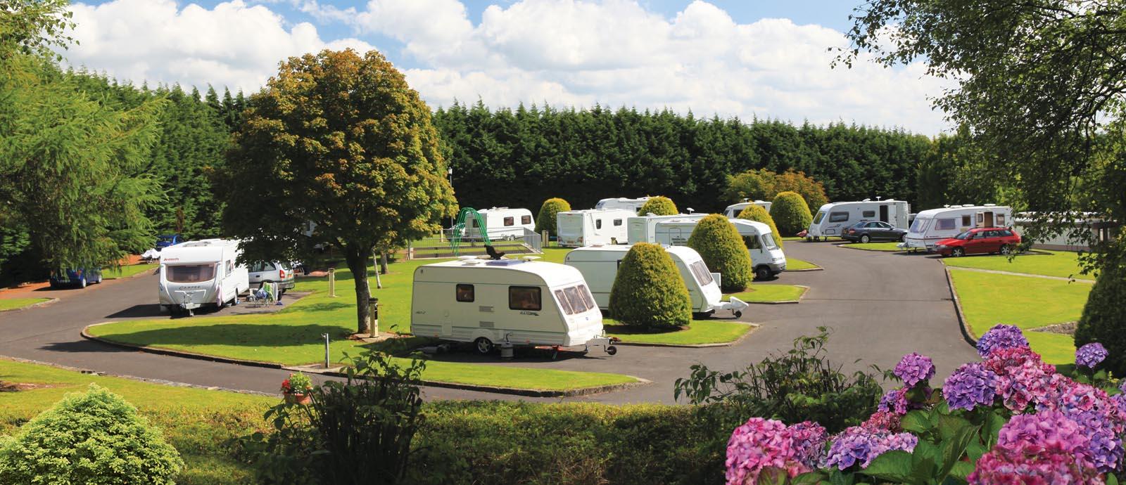 Imagine how cool the caravan park will look like!