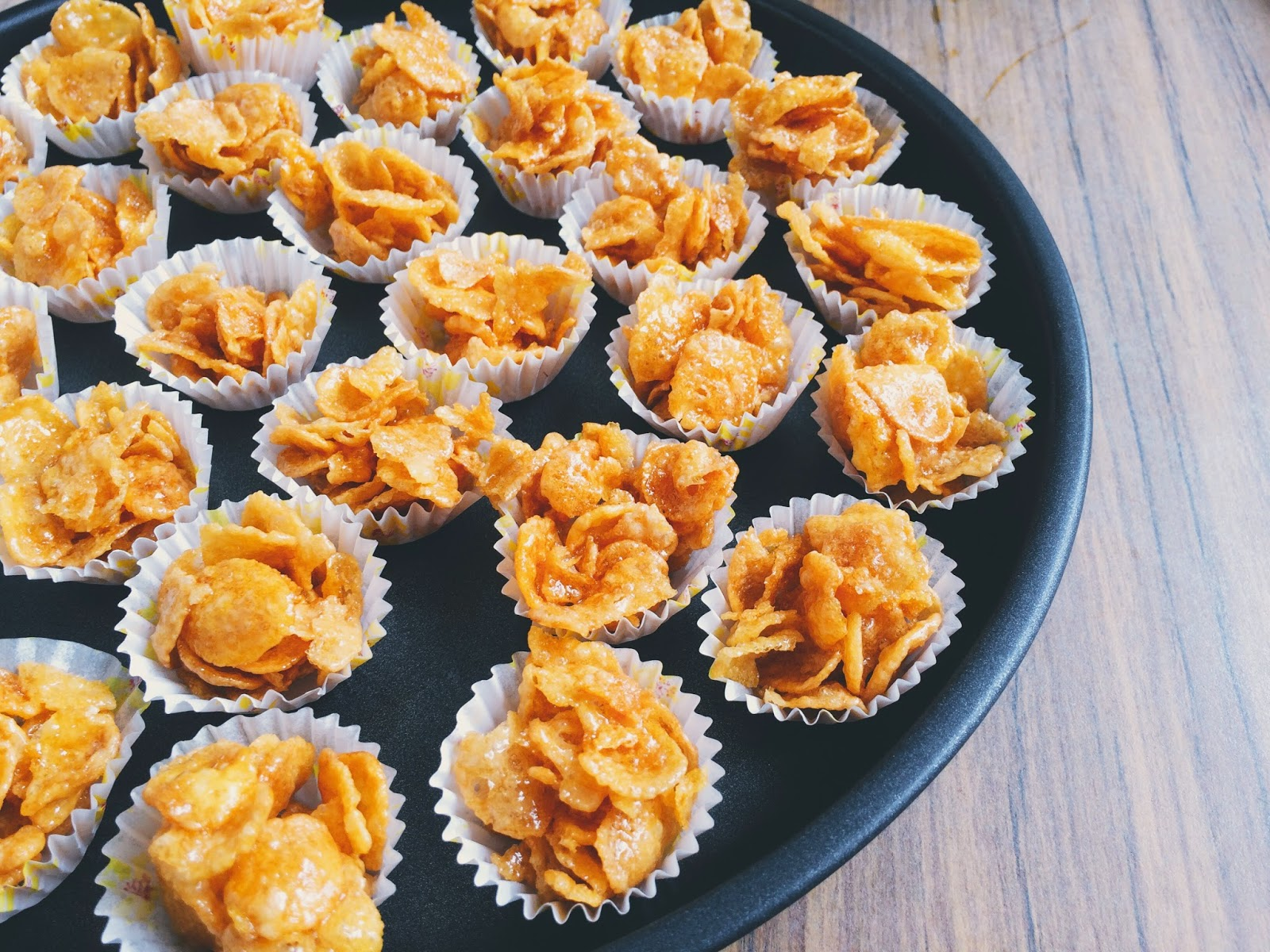 Who else likes honey cornflakes?
