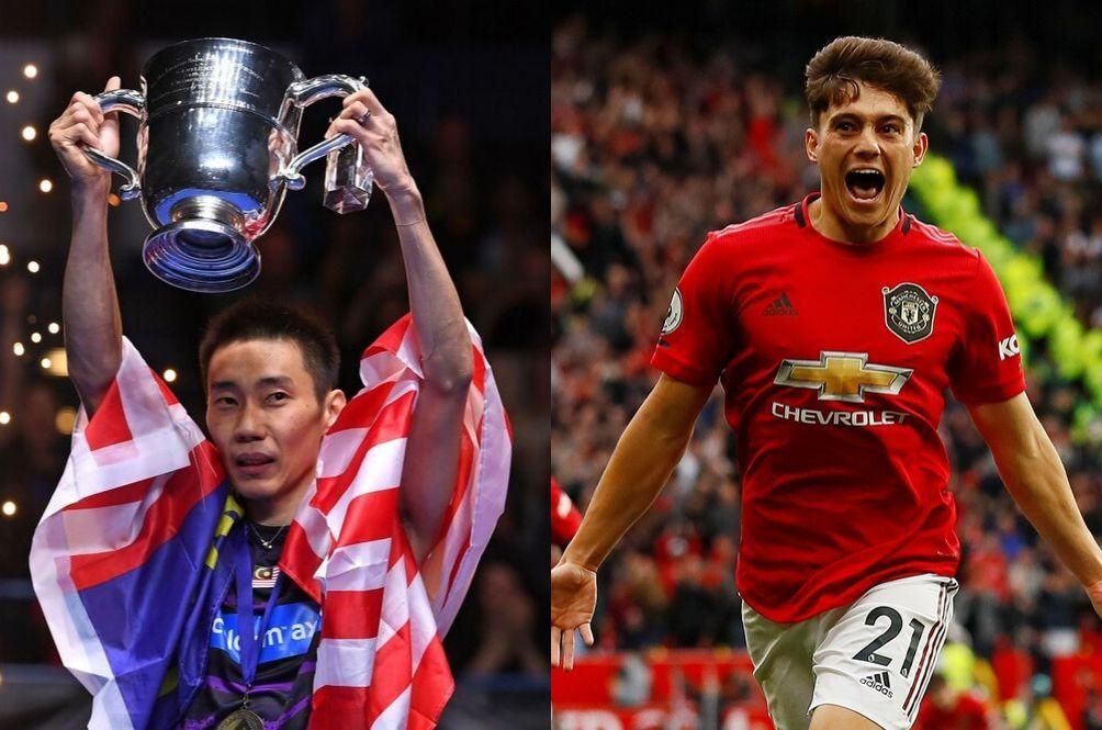 Man United Player Daniel James Is A Big Fan Of Lee Chong Wei; Badminton Legend Honoured