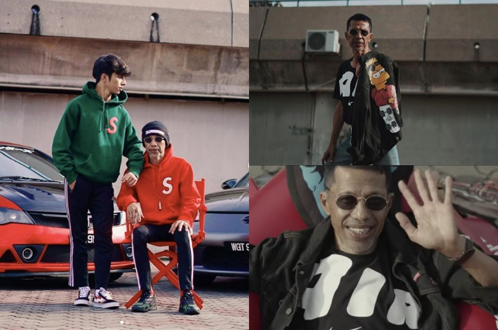 Malaysian Guy Spends RM10,000 To Turn His Dad Into The Coolest Hypebeast You'll Ever Meet