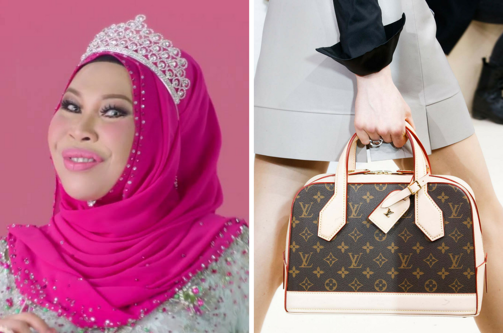Believe It Or Not, Dato' Seri Vida Is In Talks With Louis Vuitton For A Handbag Collaboration