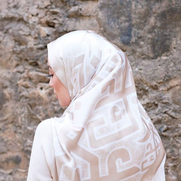 Their new collection incorporates Islamic tiles and calligraphy.