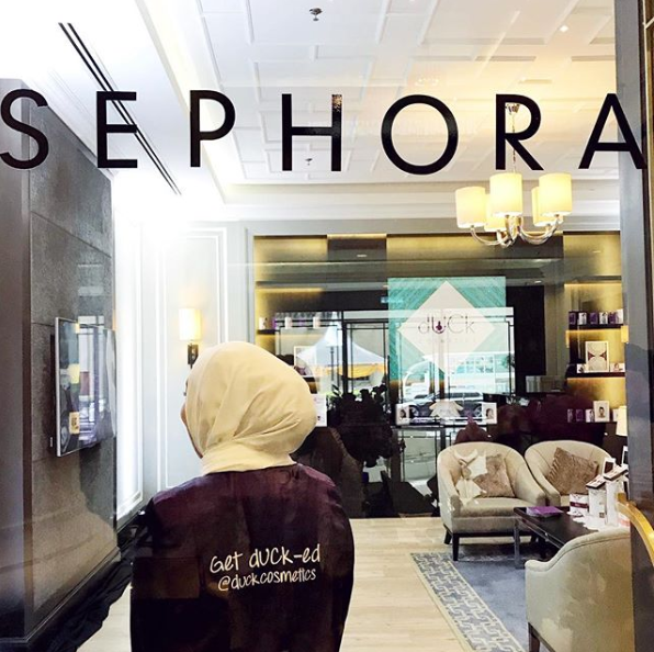 Who'd knew a few months later, we'd be seeing dUCk in Sephora!
