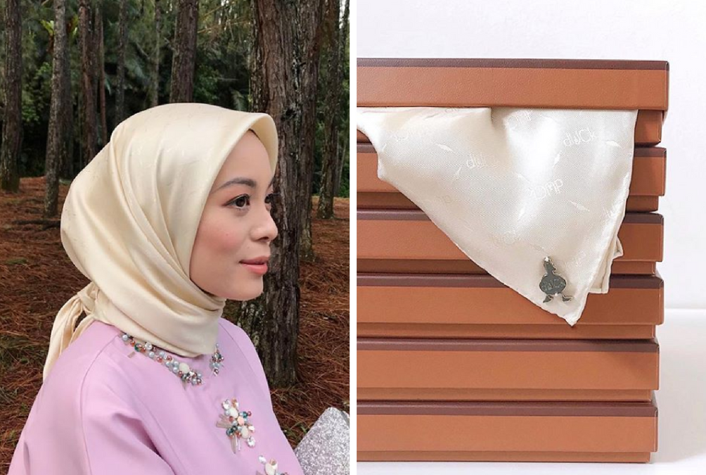 dUCk Scarves Just Launched A New Luxury Scarf Line That Costs RM1,000 Each