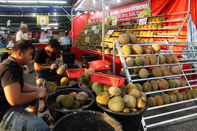 Image result for setapak durian stall